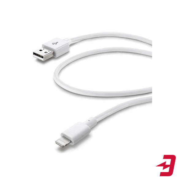 Кабель Cellular Line Lightning - USB для iPhone/iPad/iPod, 2 м (USBDATACMFIIPH52MW)