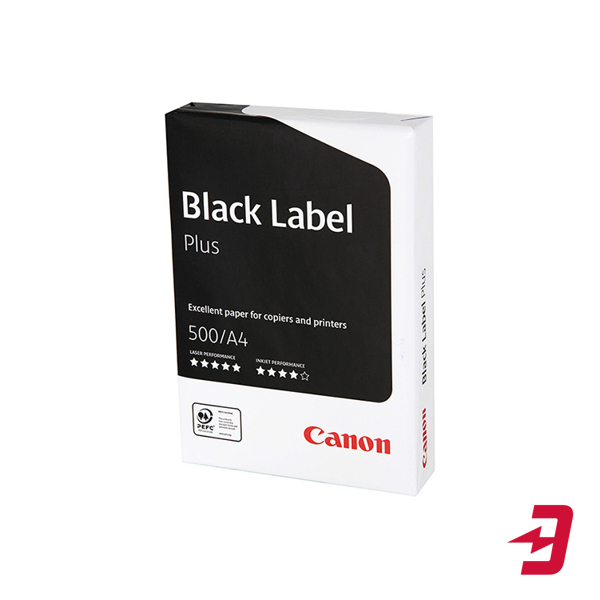 Бумага Canon Black Label Plus A4 80 г, 500 л